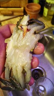 Soft Shell Crab Fried Preparation Yummmmy!