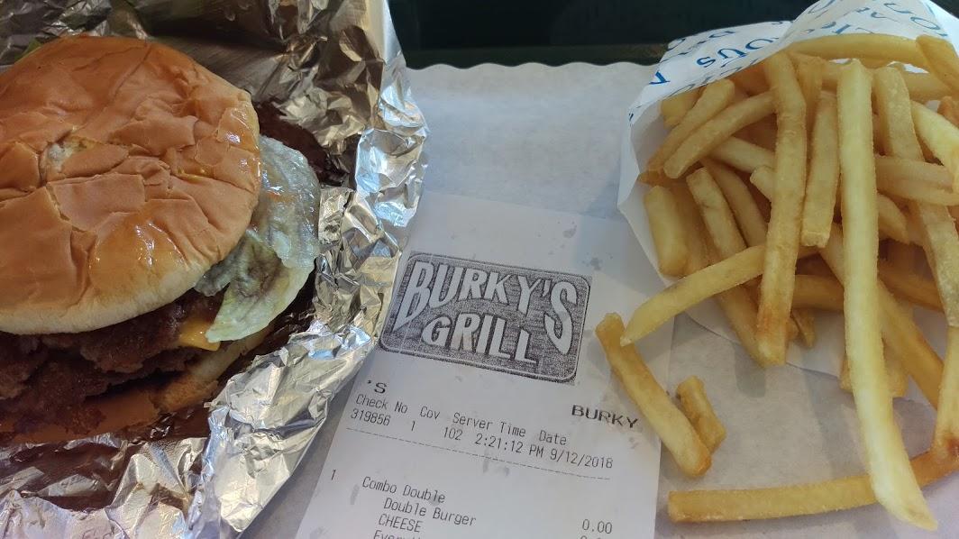 Hamburger Burkys Grill Myrtle Beach SC